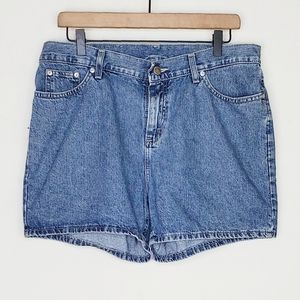 Vintage riveted by Lee highwaisted shorts
